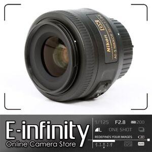 NUEVO-Nikon-AF-S-DX-Nikkor-35mm-F1-8-G-Lens