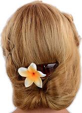 TIKI Blüten FRANGIPANI Haarkamm Blume Haarschmuck Rockabilly