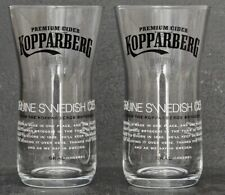 2 X KOPPARBERG CIDER PINT GLASES NEW CE IDEAL FOR HOME BAR OR PUB