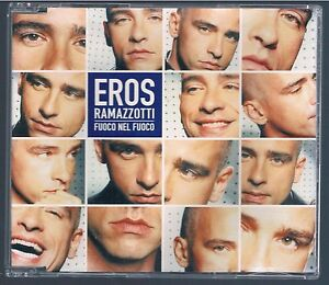 Eros Ramazzotti Fuoco Nel Fuoco Cd Singolo Single