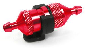 Doux Robitronic Carburant Filtre Avec Support Rouge-r07120r Neuf-er Mit Halterung Rot - R07120r Neu Fr-fr Afficher Le Titre D'origine