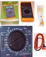 Dmm/digital Multi-meter/multimeter,test Capacitance/capacitor,temperature Too