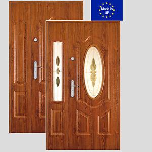 t r mallorca teneryfa stahlt r haust r eingangst r din rechts links 2 fl gelig ebay. Black Bedroom Furniture Sets. Home Design Ideas