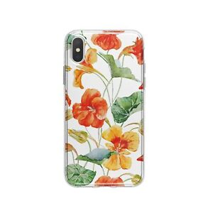 Red Flower iPhone XR 7 8 Plus Case Floral iPhone 11 12 Cover Nature SE2 XS Case