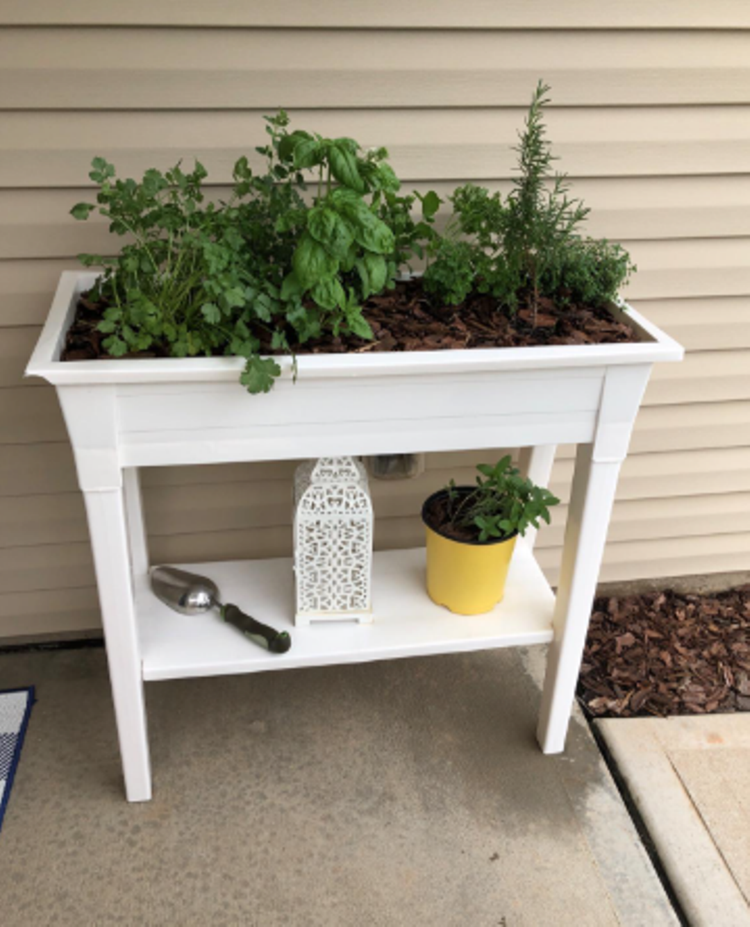 Picture of: Boldly Growing Raised Planter Box With Legs Elevated Outdoor Patio Tall For Sale Online Ebay