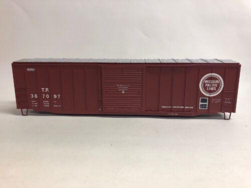 "Missouri Pacific TP Missing Trucks /&Couplers Atlas O Trainman 50'6"" Box Car"