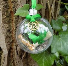 Witch Ball Ornament Pagan Boxed Gift  Wealth Money Spell Kit