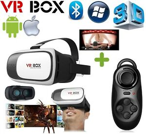 a6f2c6402752 3D VR Box Virtual Reality Glasses Goggles Helmet Headset for Iphone ...