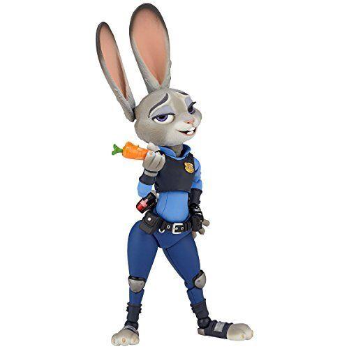 Nuovo Kaiyodo Movie Revo  Revoltech  Series 008 Judy Hopps Zootopia Action Figure