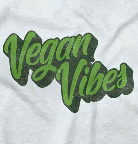 Vegan Vibes Funny Gift Gym Workout Cool Cute Savage Edgy Lit Classic T Shirt Tee