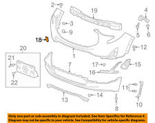 GM OEM Rear Bumper-Bumper Cover Bracket Right 15825634