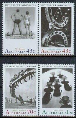 1249/52 ** Klug Australien Minr 150 Jahre Fotografie Wohltuend FüR Das Sperma