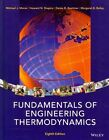 Fundamentals of Engineering Thermodynamics by Professor Michael J Moran, Howard N Shapiro, Daisie D Boettner, Margaret B Bailey (Hardback, 2014)