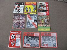 JOB LOT OF 9 x 1970s VINTAGE FOOTBALL PROGRAMMES TOTTENHAM STOKE ORIENT SWINDON