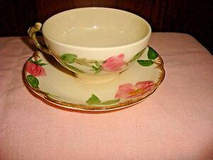 Franciscan Desert Rose 4 Cups & Saucers 1960s TV Backstamp USA | eBay