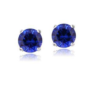 14K-White-Gold-2-1ct-TGW-Created-Blue-Sapphire-Stud-Earrings