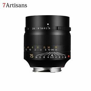 7artisans-Photoelectric-75mm-F1-25-Full-Frame-Manual-Lens-for-Leica-M-Mount