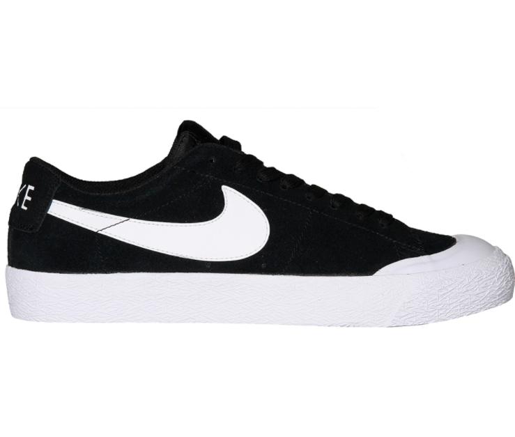 Nike SB Zoom Blazer bassa XT Uomini in Pelle Scamosciata Scarpa Da Skate Nero Bianco Taglia Nuovo di Zecca