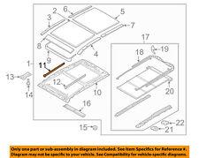 Genuine Hyundai 81620-0W000 Sunroof Frame Assembly