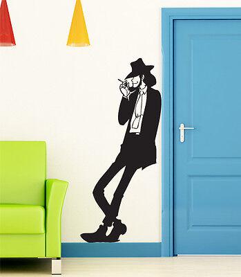 00735 Jigen Wall Sticker Stickers Adesivi muro murali 53x120cm tatoo