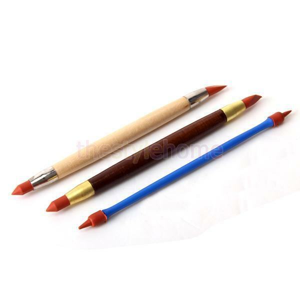Set of 3PCS Pottery Clay Sculpture Carving Modeling Tools Art Craft Supplies