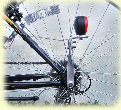 Heavy Duty Tail Light Bracket Bicycle /& Motorized Bikes