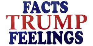 Wholesale Lot of 5 Trump 2020 White Decal Bumper Sticker