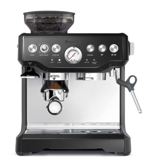 Breville BES870BSXL Barista Express Espresso Machine, Black
