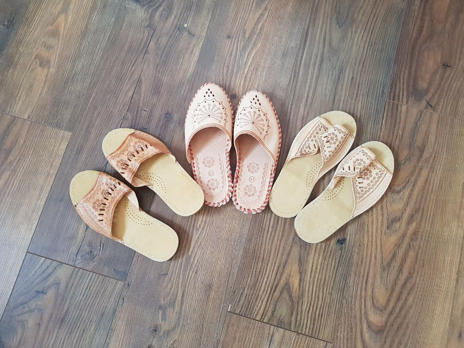 Man's/Woman's womens leather slippers stable size 3,4,5,6,7 New market stable slippers quality Beautiful and charming 97d7c7