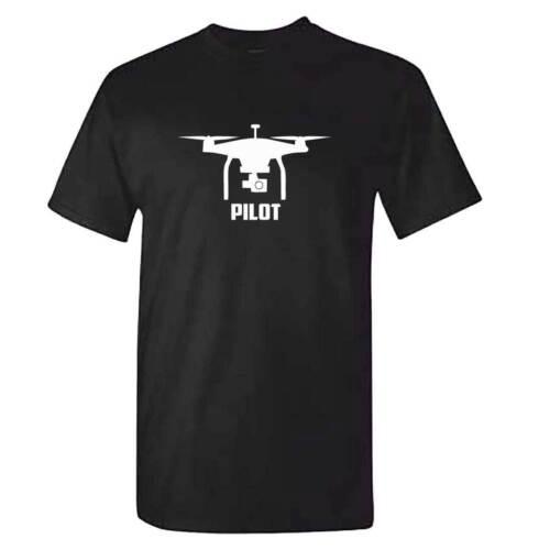 Quadcopter Fun vêtements accessoires Top TShirt Mens DRONE pilote T Shirt