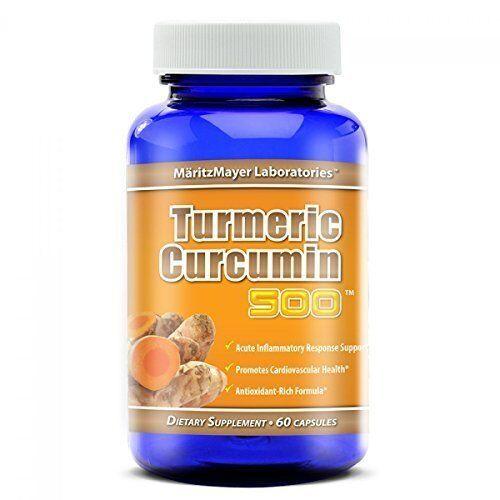 Turmeric Curcumin 500 mg, 60 Capsules by MaritzMayer Laboratories