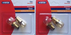4-x-STATUS-Twin-Pack-300-15W-Oven-Appliance-Light-Bulb-240v-2-SES-E14-Lamp