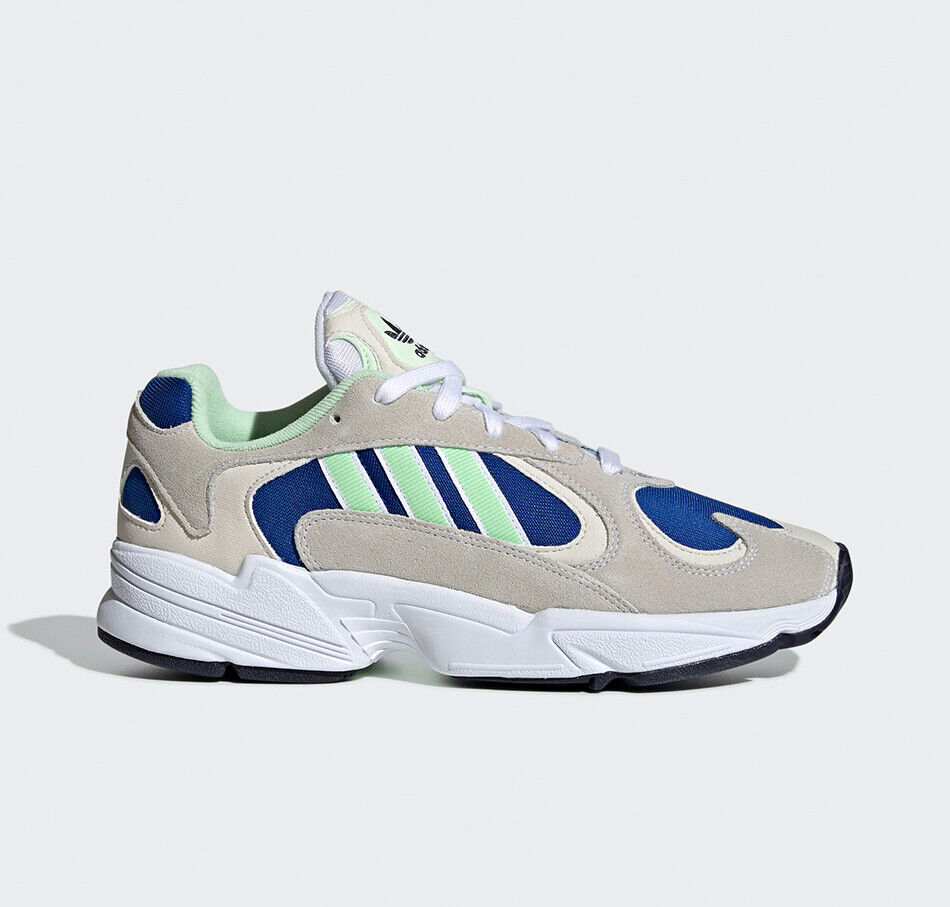 Adidas ORIGINALS YUNG-1 Weiß glow Grün royal EE5318 NEU