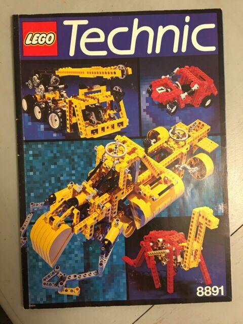 Lego Technic 8891 Designer Instruction Manual Idea Book 12 Models 99