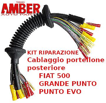 AG Automotive Cablaggio Portellone Bagagliaio Fiat 500 cinquecento nuovo 2320050