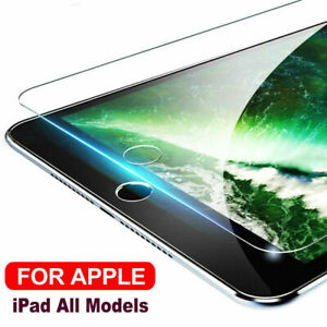 Tempered-Glass-Screen-Protector-For-iPad-2-3-4-6th-Air-Pro-9-7-034-10-5-034-7-9-034-Yc