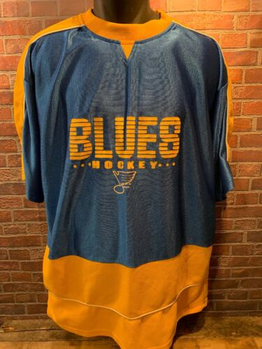 Taglia Ferro Louis St Cavalieri Hockey Xl Jersey Atletica Blues Vintage gUw64
