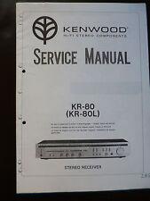 Service Manual Kenwood KR-80 KR-80L