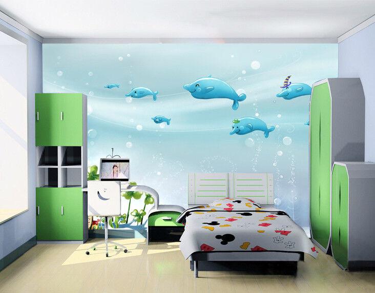 3D 3D 3D Nette Blaue Elfen 84 Tapete Wandgemälde Tapete Tapeten Bild Familie DE  | Professionelles Design  | Billig  | Billig ideal  a99e96
