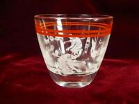 Sports Drinking Tumbler Clear Glass Vintage Continental Can Co Old Fashioned (O)