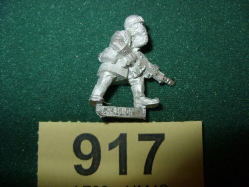 WARHAMMER 40K Metal IMPERIAL GUARD ARMAGEDDON STEEL LEGION TROOPER Lot 917