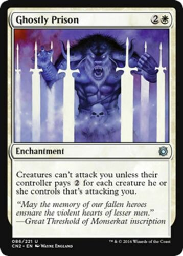SP U Conspiracy: Take the Crown MTG Magic - Ghostly Prison