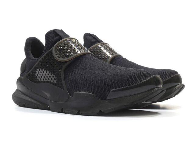 new style fdf0d 93a7c Nike Sock Dart KJCRD Sz 9 Stealth Black Slip on Running Shoes 819686 001