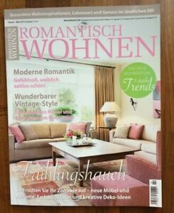 Zeitschrift, ROMANTISCH WOHNEN, Feb. / März 2019, NEU! | eBay