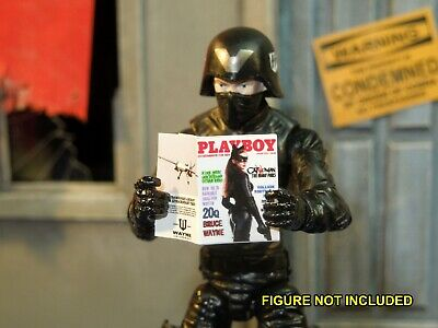 1//6 Scale Custom Playboy GI Joe Cobra Baroness includes several interior pages