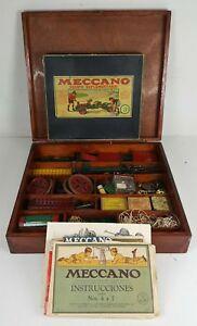 MECCANO-BOITE-AVEC-INFINITE-DE-PIECES-EQUIPEMENT-SUPPLEMENTAIRE-3A-CIRCA-1960