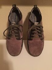 OLUKAI  MENS  SUEDE LEATHER  SNEAKER Lace Up SHOES US 11M