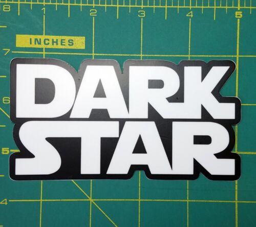 "Jerry Garcia Bumper The Grateful Dead DARK STAR 4.75/"" x 2.5/"" Die Cut Decal"