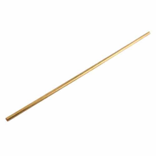 1pc Brass Tube Pipe Tubing Round Outer Diameter 0.6-2cm Length 50cm Model Making