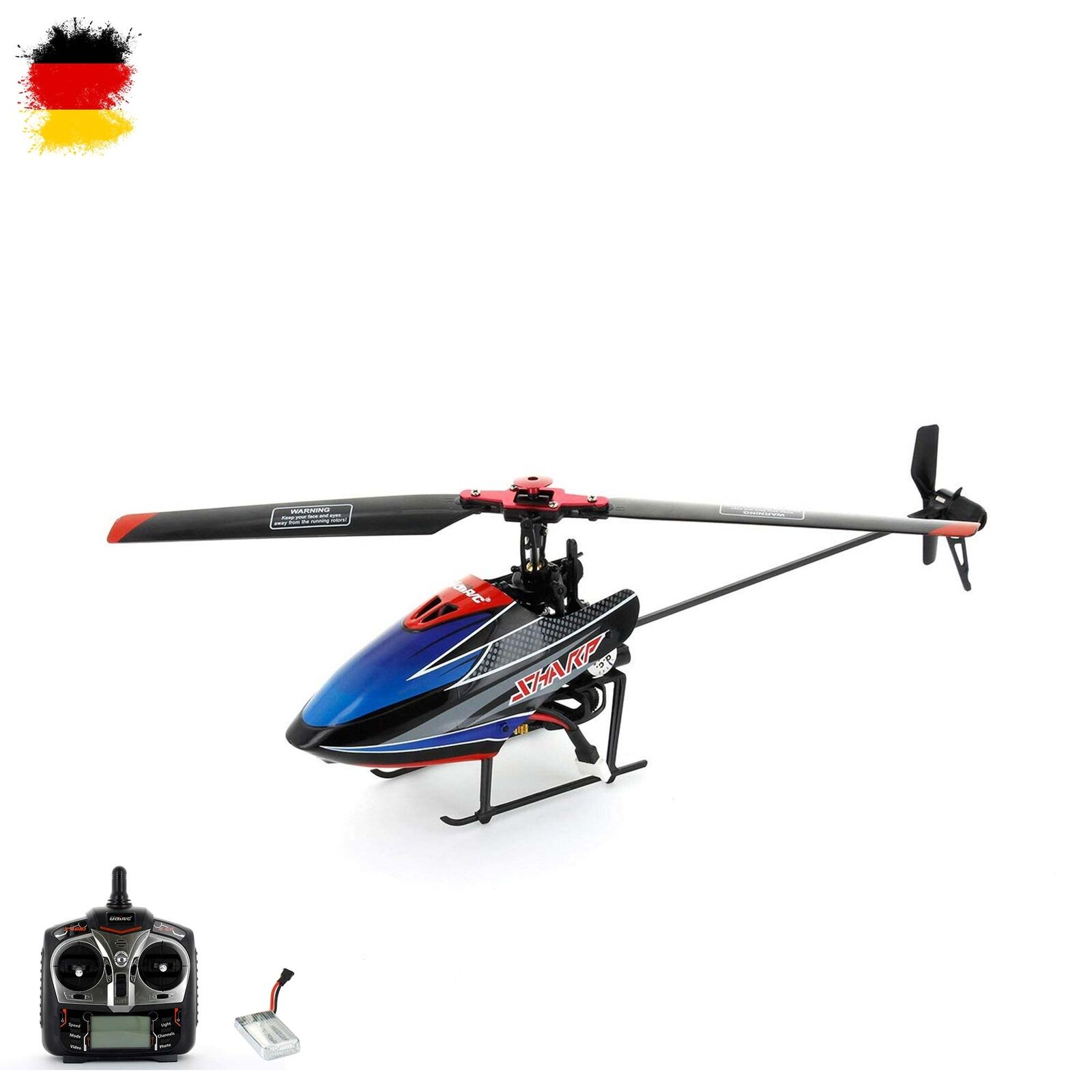 RC ferngesteuerter Flybarless-Hubschrauber 4.5 Kanal Helikopter-Modell